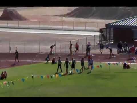 Women and Men 200 Meter Seeded Finals