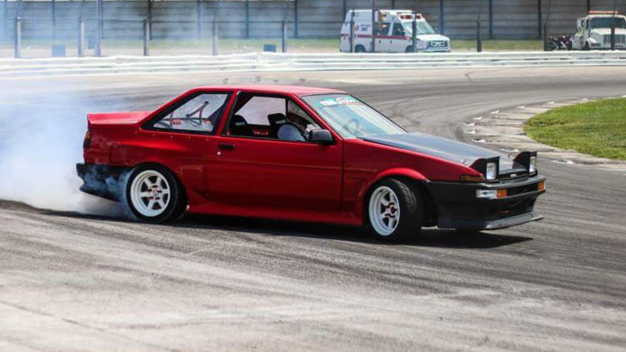 Toyota Drift Car Corolla Youtube