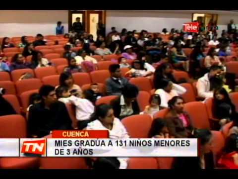 MIES gradúa a 131 niños menores de 3 años