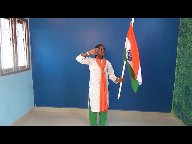 Children Republic Independence Day Dance / PATRIOTIC  dance