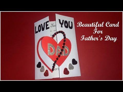 Beautiful handmade card for DAD | diy HANDMADE CARD for DAD