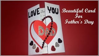 Beautiful handmade card for DAD | diy HANDMADE CARD for DAD