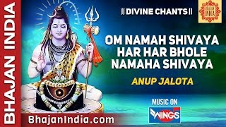 Om Namah Shivaya Om Namha Shivaya Har Har Bhole Namah Shivaya By Anup Jalota