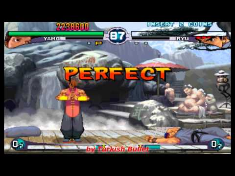 Street Fighter III: 2nd Impact - Giant Attack (Arcade) - (Longplay - Yang | Hard Difficulty)