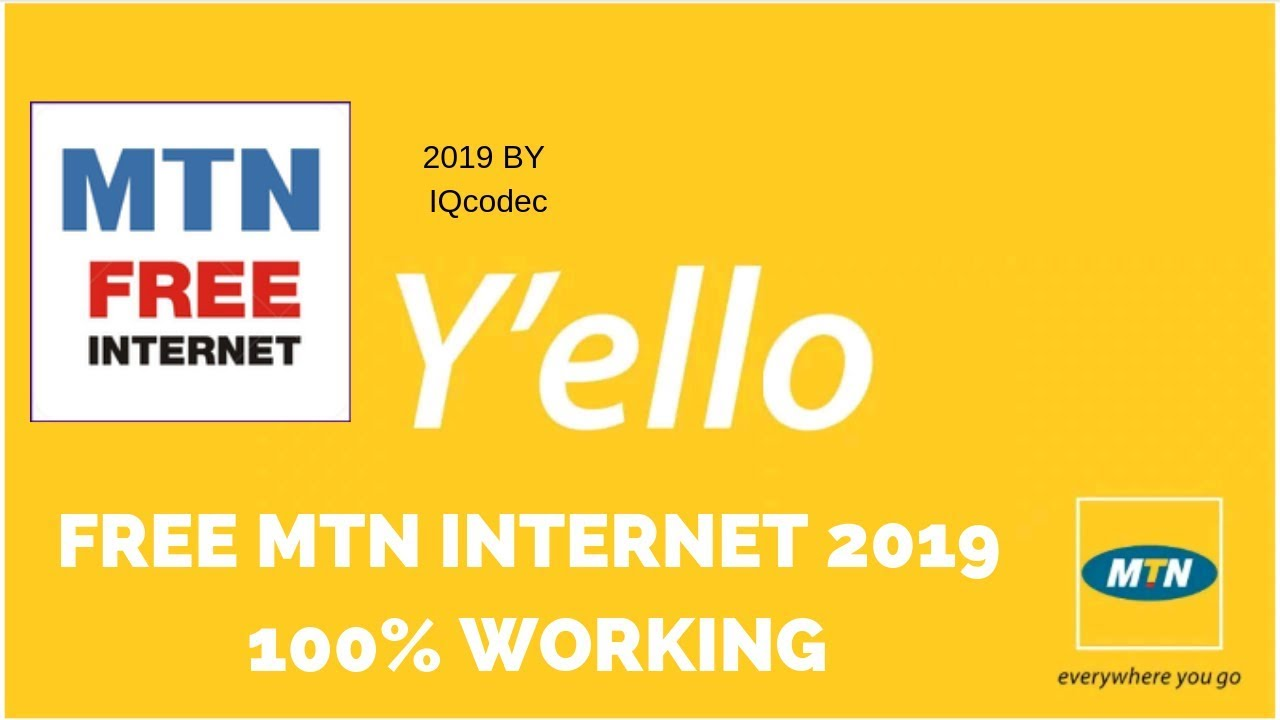 FREE INTERNET WITH MTN CAM 2019- 100% WORKING