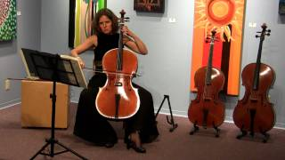 Bach Cello Suite No 5 in C minor BWV 1011 Sarabande - Josephine van Lier
