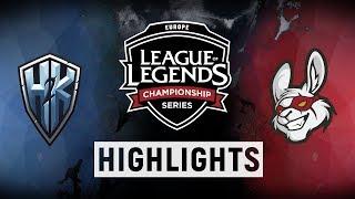 H2K vs. MSF - EU LCS Week 7 Day 2 Match Highlights (Spring 2018)