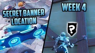 Temporada 7, Semana 4 *SECRET* Banner Ubicación (Banner Gratis) - Fortnite