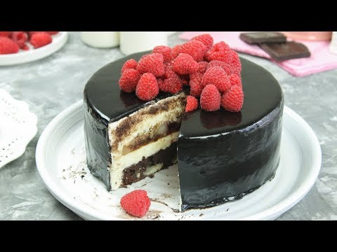 Chocolate Brie Cheese Mousse Cake | Chocolate Cake
