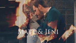 Matt & Jeni's EPIC CINEMATIC Wedding Film Will Have You In Tears!
