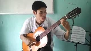 chia doi con duong Xuân Nghĩa guitar.FLV