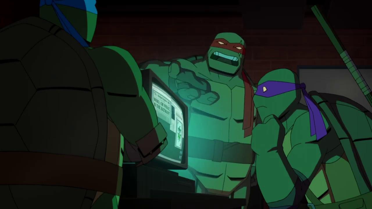 Download They call him the Batman - Batman Vs Teenage Mutant Ninja Turtles