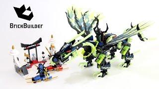 vuclip Lego Ninjago 70736 Attack of the Morro Dragon - Lego Speed build