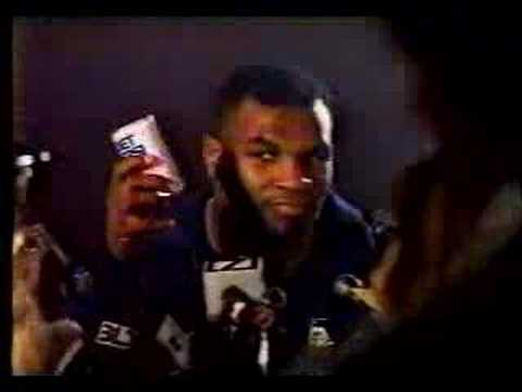 Diet Pepsi commercial with Mike Tyson