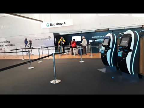 Air New Zealand Check In Area Auckland Domestic Airport