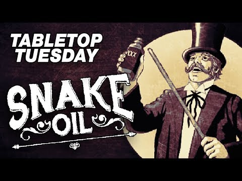 SNAKE OIL - Tabletop Tuesday #1