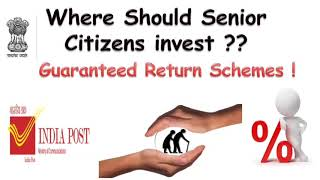 Guaranteed Return Schemes for Senior Citizens | monthly return investment scheme