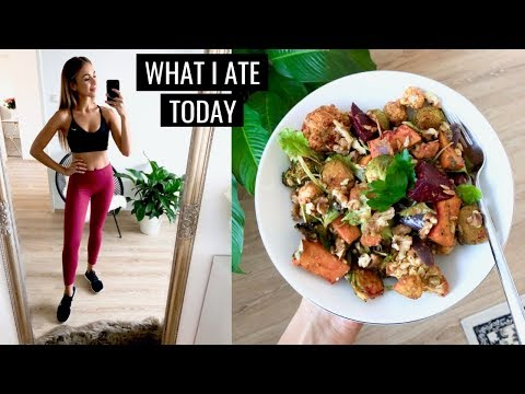 WHAT I ATE TODAY | Simple Healthy Food Ideas | Annie Jaffrey