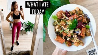 WHAT I ATE TODAY   Simple Healthy Food Ideas   Annie Jaffrey