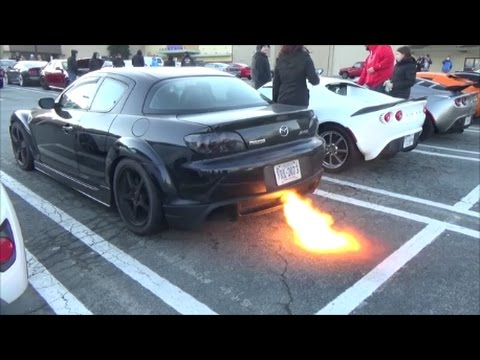 Rotary RX-8 Huge 2-step and Acceleration