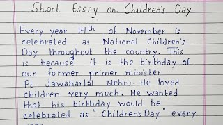 Essay writing children39s day academic essays introductions
