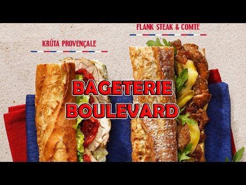 Francouzské menu od BAGETERIE BOULEVARD!