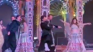Shahrukh Khan's AMAZING Dance With Gauri Khan At Isha Ambani & Anand Piramal WEDDING Ceremony
