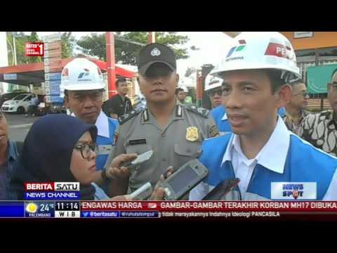 Arcandra Tahar Sidak Terminal Pengisian BBM di Balikpapan