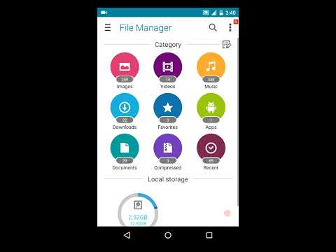 Access locked files in Secure Gallery android application without password