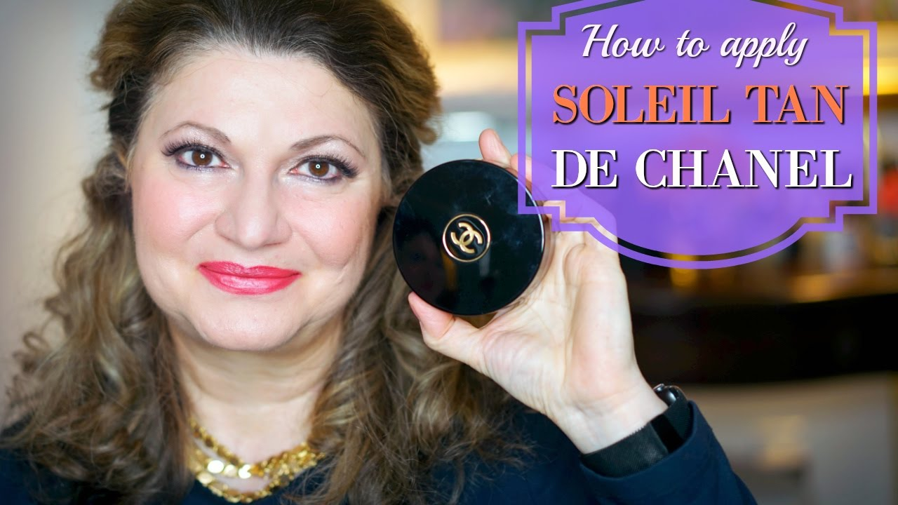 How To Use  Soleil Tan De Chanel Bronzing Cream