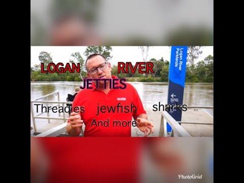 LOGAN RIVER FISHING. Jetties Revealed