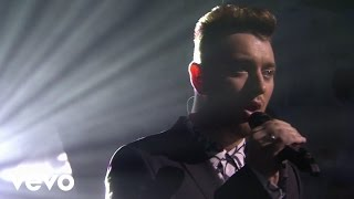 Repeat youtube video Sam Smith - Lay Me Down (Live at The BRIT Awards 2015)