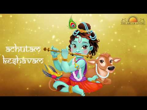 Achutam Keshavam | Krishna Bhakti Bhajan | Sachin Limaye | Art of Living Bhajan