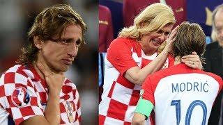 Luka Modric Crying | Croatian President hugging Luka Modric | FIFA 2018 |