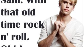 old time rock and roll danger zone glee lyrics
