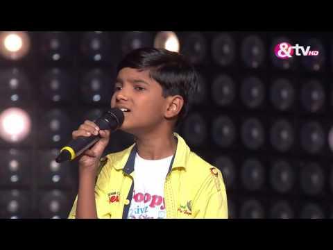 Ayush Kotwal - Blind Audition - Episode 3 - July 30, 2016 - The Voice India Kids