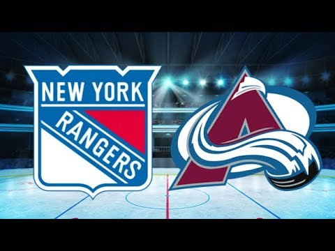 New York Rangers vs Colorado Avalanche (1-3) – Jan. 20, 2018 | Game Highlights | NHL 2018