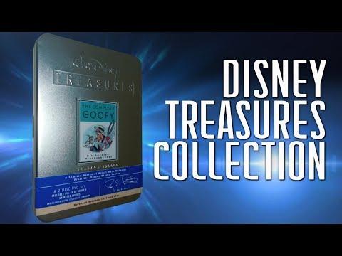 Walt Disney Treasures DVD collection Animation Tins
