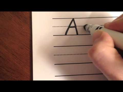 Writing Letters A-C