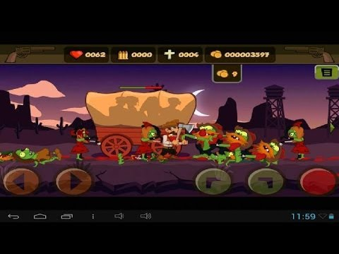 Zombies and Guns - Android gameplay