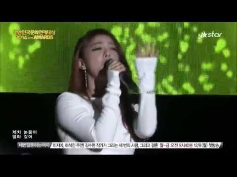 [HD] 141128 Ailee (에일리) - Singing Got Better @ 2014 Korea Culture & Entertainment Awards