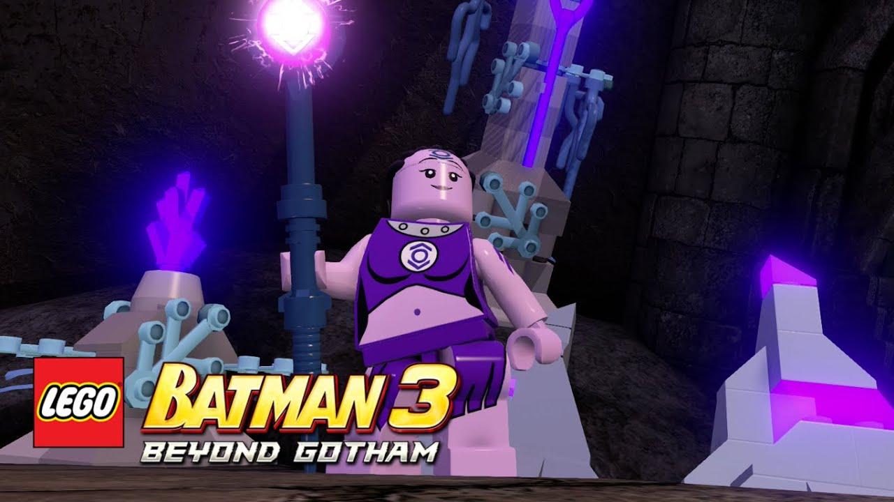 LEGO Batman 3: Beyond Gotham - Indigo-1 Nok free roam - YouTube