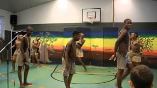 Golden Youth Club aus Winterveldt  (Südafrika) in der Grundschule Sandhorst