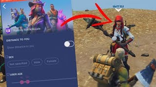 i used a fortnite dating app to find a teammate to play fortnite with me...