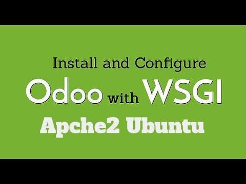Deployment and Configuration of Python odoo apache wsgi