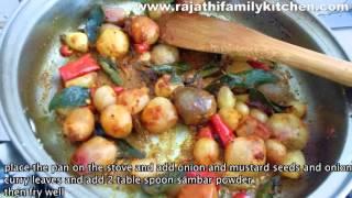 small onion puli kozambu  (RFK food tip)