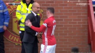 Man United vs Man City  1-2 Highlights 10-09-2016 | Rooney Push Pep