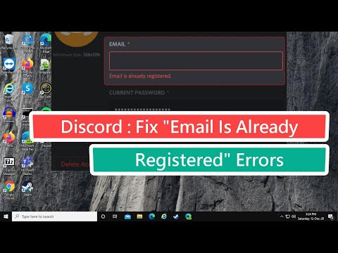 """Discord : Fix """"Email Is Already Registered"""" Errors"""