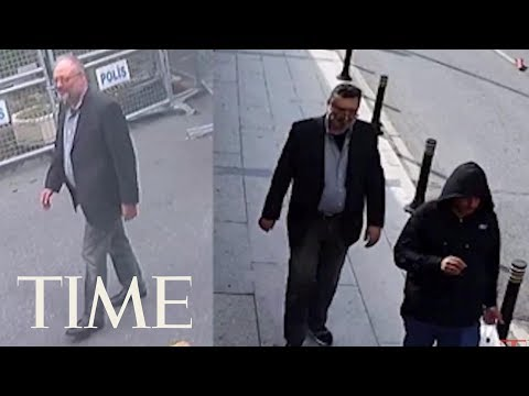 Leaked Surveillance Footage Shows Man Walking In Jamal Khashoggi's Clothes | TIME