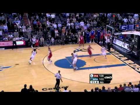 Philadelphia 76ers vs Washington Wizards (23/11/2010)